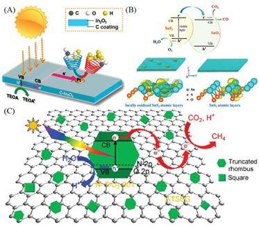 Chem. Soc. Rev.综述:催化CO2还原的表面策略:从2D材料到纳米团簇再到单原子